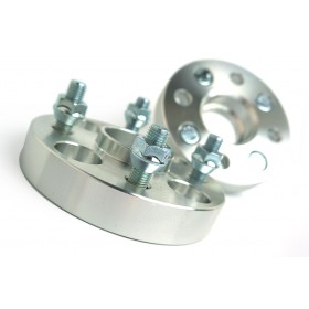 Wheel Spacers - 4X100 56.1CB - 25mm (1.0 Inch)