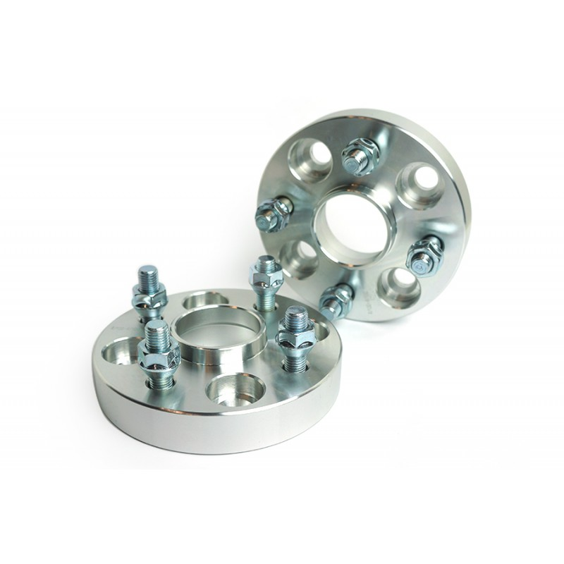 Wheel Hub Centric Spacer Adapters 30 mm 4x114.3 to 4x100 a set of 2