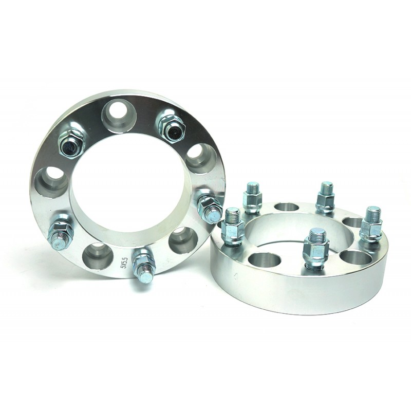"""2 Wheel Spacers Converts 5x135 To 5x4.5 1.5/"""" Thick 5 Lug Adapters ¦ 5x114.3"""