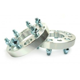 Wheel Spacers - 6X139.7 (6X5.5) 14x1.5 Studs - 1.0 Inch