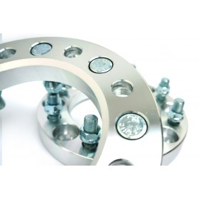 Wheel Spacers - 8X6.5 (8X165.1) 14x1.5 Studs - 1.0 Inch 25mm