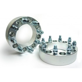 Wheel Spacers - 8X6.5 (8X165.1) 14x1.5 Studs - 2.0 Inch