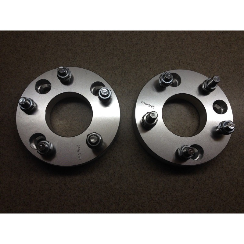 """Thick 5x100 to 5x114.3 Wheel Adapters Spacers Converter M12x1.25 Studs 50mm 2/"""""""