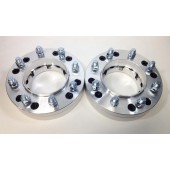 6X135 and 6x5.5 TO 8X170 Conversion Adapters 14x1.5 Studs - 50mm 2 Inch